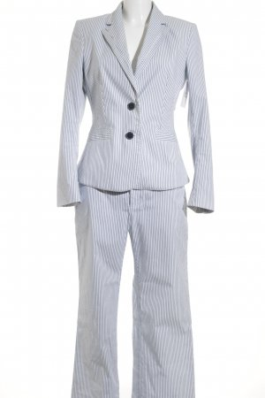 Mexx Kostüm Streifenmuster Business-Look