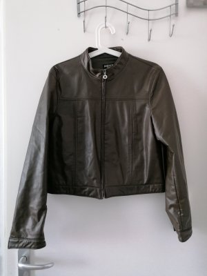 Mexx Faux Leather Jacket multicolored