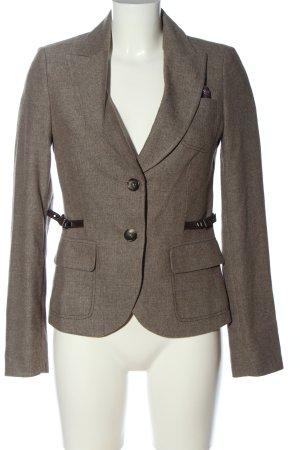 Mexx Short Blazer light grey flecked casual look