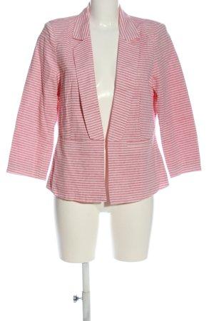 Mexx Kurz-Blazer pink Allover-Druck Casual-Look