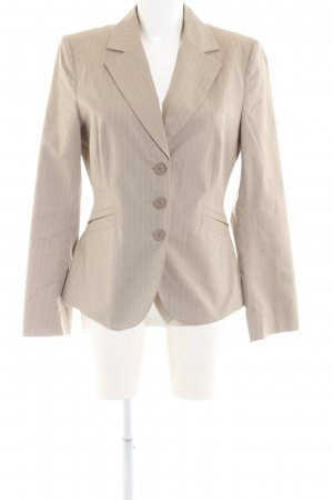 Mexx Kurz-Blazer wollweiß Allover-Druck Business-Look