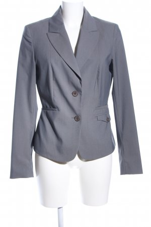 Mexx Kurz-Blazer hellgrau Business-Look