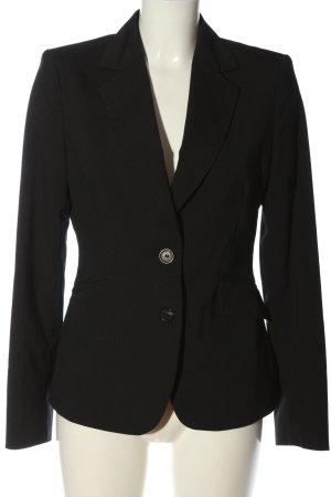 Mexx Blazer court noir motif rayé style d'affaires