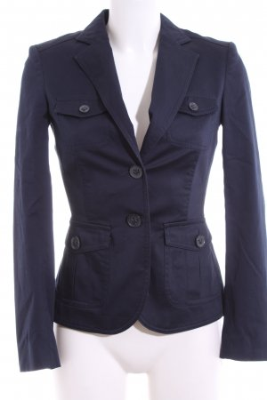 Mexx Kurz-Blazer blau Business-Look