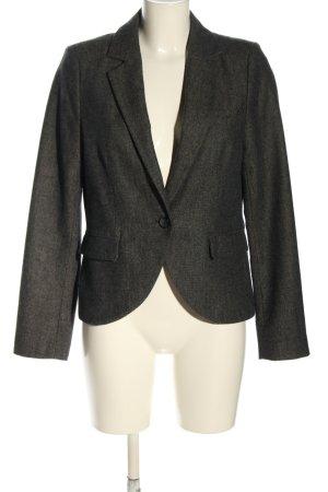 Mexx Blazer corto negro-crema moteado estilo «business»