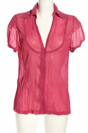 Mexx Kurzarm-Bluse pink Casual-Look
