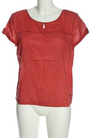 Mexx Kurzarm-Bluse rot Casual-Look