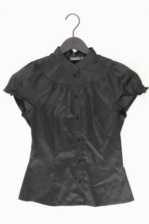 Mexx Kurzarmbluse Größe 36 schwarz aus Polyester