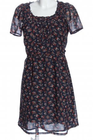 Mexx Kurzarmkleid abstraktes Muster Casual-Look
