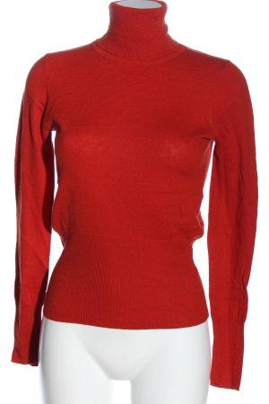 Mexx Jersey de manga corta rojo look casual