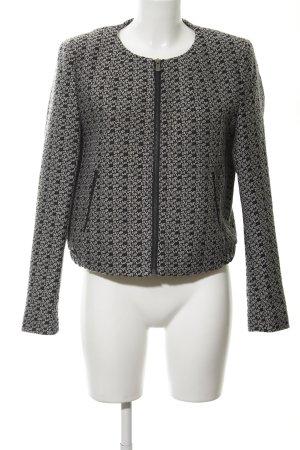 Mexx Kurzjacke weiß-schwarz abstraktes Muster Casual-Look