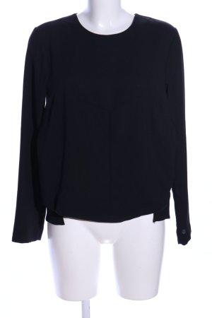 Mexx Langarm-Bluse schwarz Casual-Look