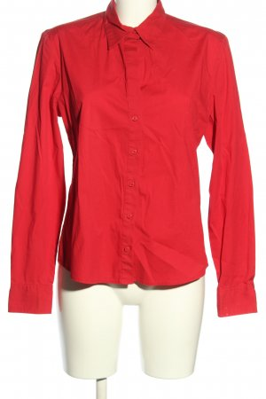 Mexx Langarm-Bluse rot Casual-Look