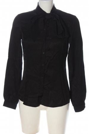 Mexx Langarm-Bluse schwarz Elegant