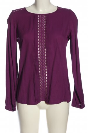 Mexx Langarm-Bluse pink Casual-Look