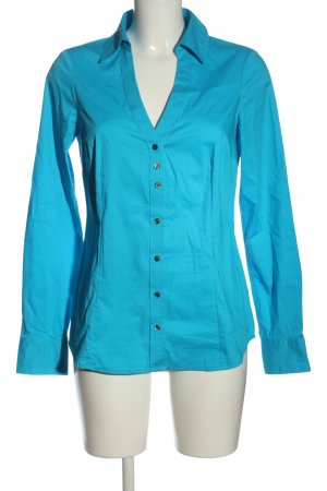 Mexx Langarmhemd blau Business-Look