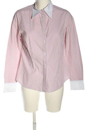 Mexx Langarmhemd pink-weiß Streifenmuster Business-Look