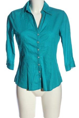 Mexx Langarmhemd blau Casual-Look