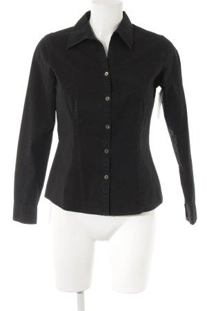 Mexx Langarmhemd schwarz Elegant