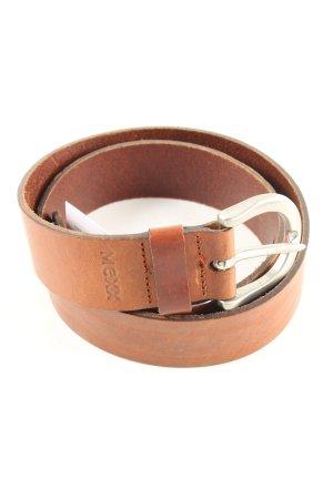 Mexx Leather Belt light orange casual look