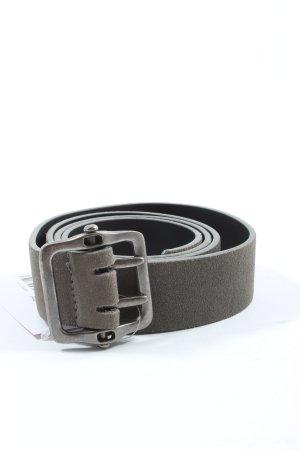 Mexx Leather Belt light grey business style