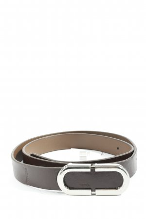 Mexx Leather Belt brown casual look