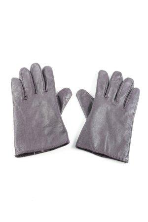 Mexx Guanto in pelle grigio chiaro stile casual