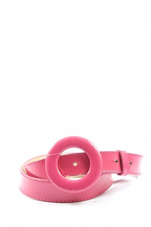 Mexx Faux Leather Belt pink casual look