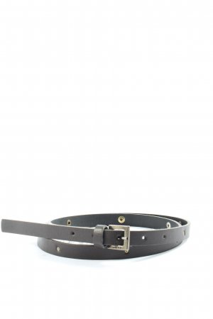 Mexx Faux Leather Belt black casual look