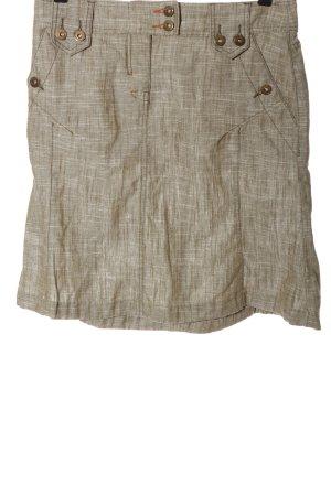 Mexx Linen Skirt cream casual look