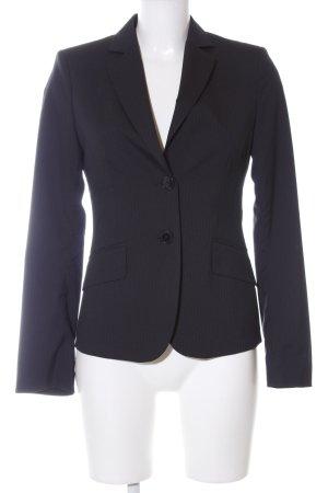Mexx Long-Blazer schwarz Streifenmuster Business-Look