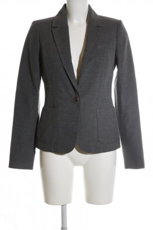 Mexx Long-Blazer hellgrau meliert Business-Look