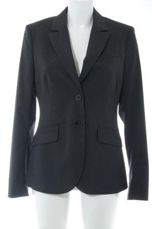 Mexx Long-Blazer schwarz-weiß Business-Look
