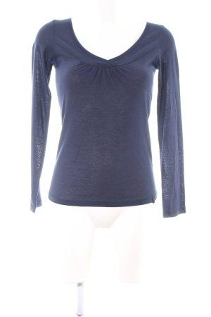 Mexx Longsleeve blau Casual-Look