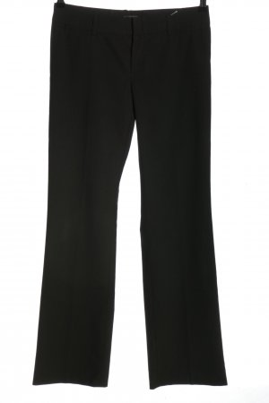 Mexx Marlene Trousers black striped pattern business style