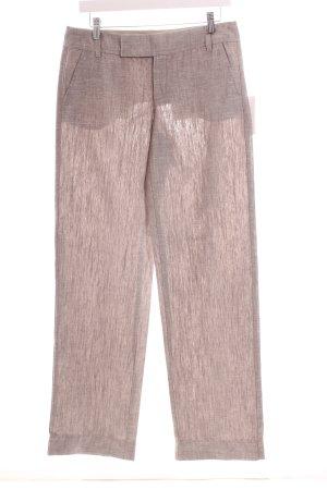 Mexx Marlene Trousers grey weave pattern casual look