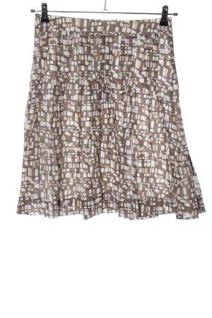 Mexx Spódnica midi brązowy-w kolorze białej wełny Na całej powierzchni