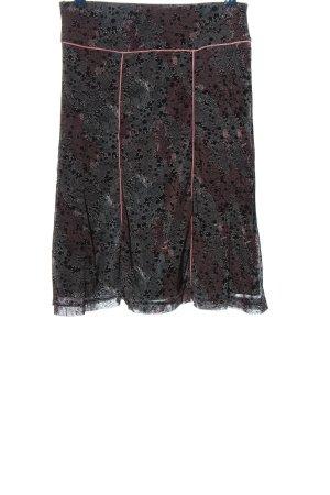 Mexx Spódnica midi Abstrakcyjny wzór W stylu casual