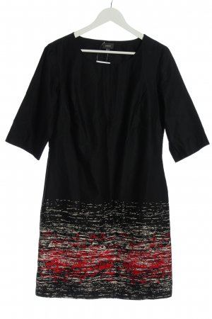 Mexx Mini Dress black-red abstract pattern casual look