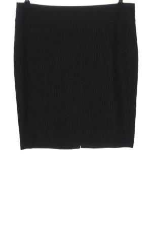 Mexx Miniskirt black striped pattern business style