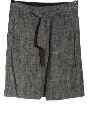 Mexx Mini-jupe gris clair moucheté style d'affaires