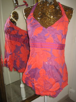 Mexx Neckholder Orange Lila Gr 44