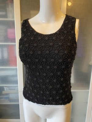 Mexx Crochet Top black