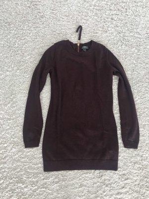 Mexx Crewneck Sweater bordeaux wool