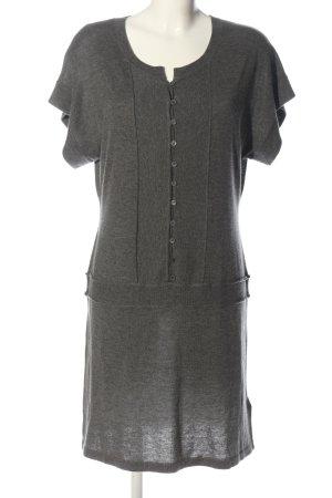 Mexx Swetrowa sukienka jasnoszary Melanżowy W stylu casual