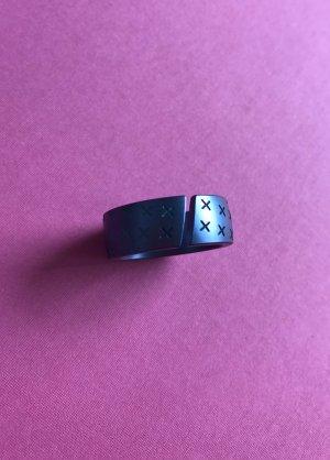 Mexx Statement ring donkerblauw-blauw
