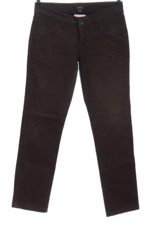 Mexx Jeans cigarette brun style décontracté