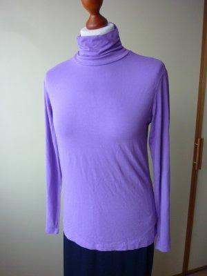Mexx Camisa de cuello de tortuga lila-púrpura Viscosa