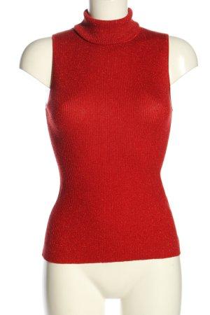 Mexx Maglia a collo alto rosso stile casual