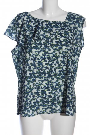 Mexx Rüschen-Bluse abstraktes Muster Casual-Look